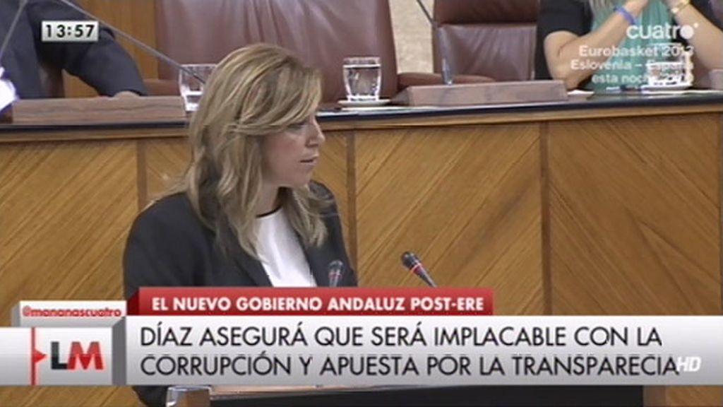 Susana Díaz, nueva Presidenta de la Junta de Andalucía