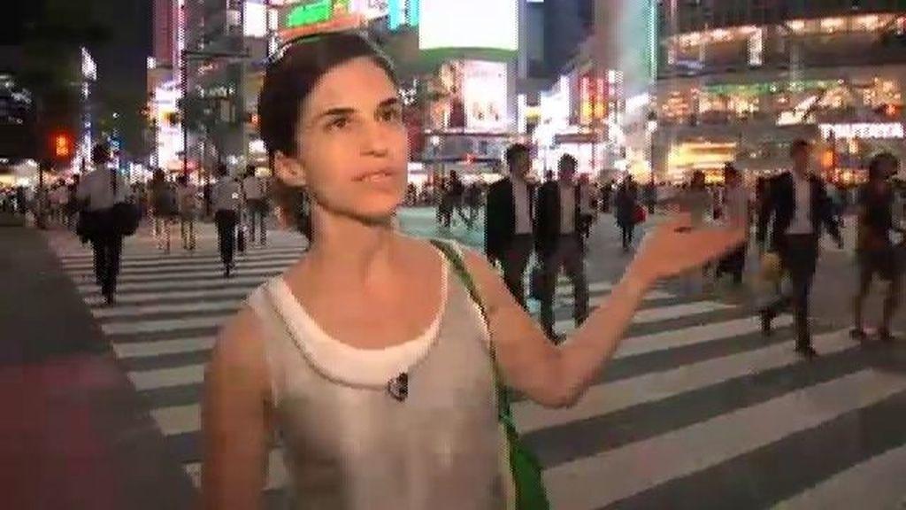 Por el cruce de Shibuya pasan casi 5 millones de habitantes al día
