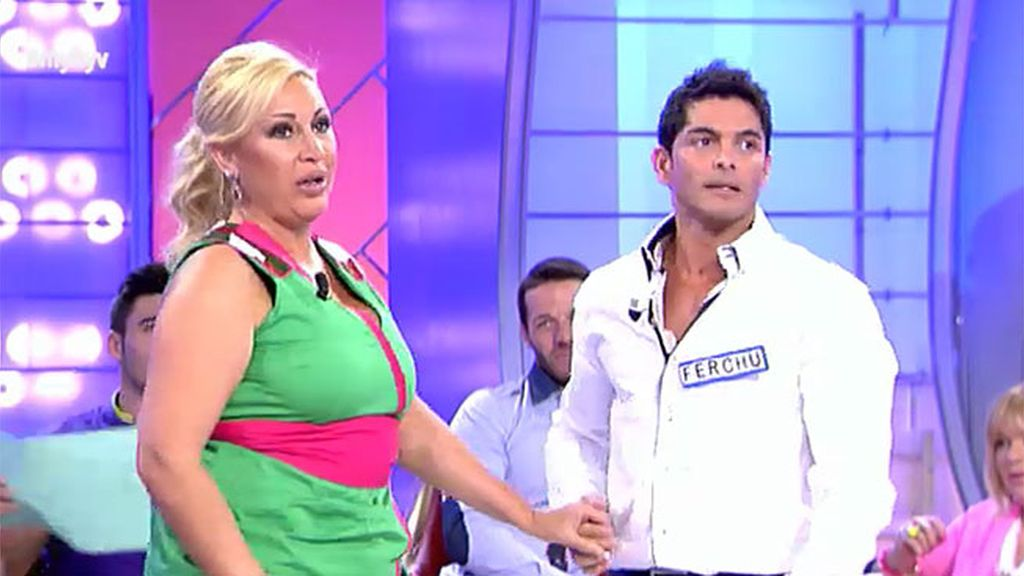 Raquel niega un baile a Ferchu