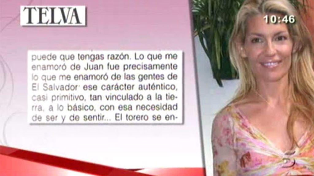 Patricia Rato se sincera