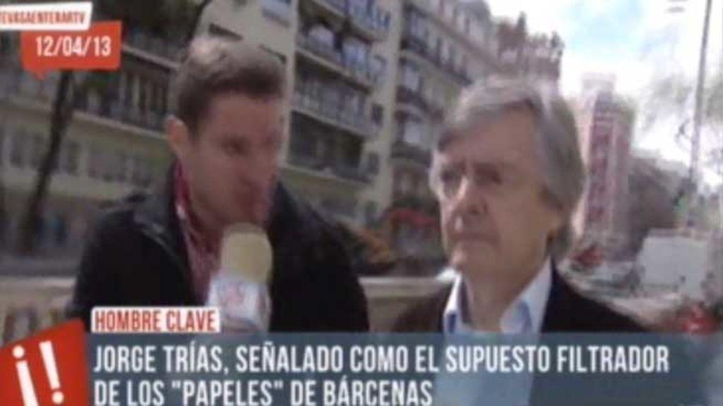 Ernesto Ekaizer asegura que Trias fue el enlace entre el juez Pedreira, Bárcenas y PP