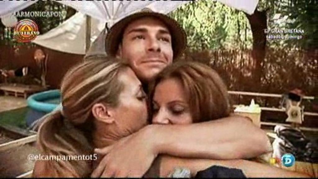 Mónica logra el abrazo de Jacobo y Sonia