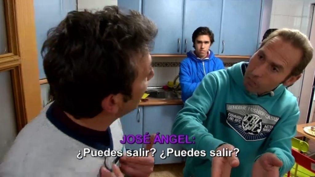 """José Antonio: """"Ésta no es tu casa ni lo será nunca"""""""