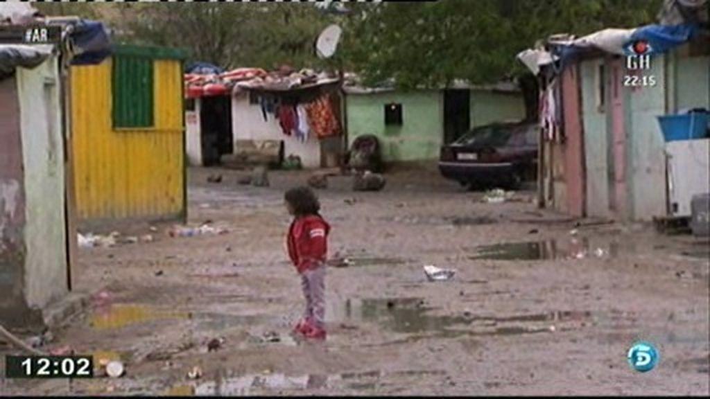 El poblado chabolista más pobre