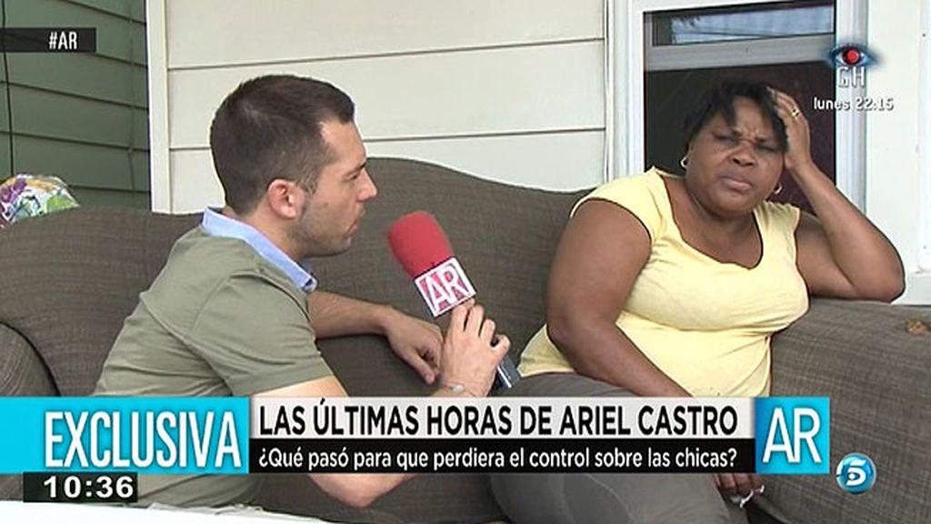 ¿Qué hizo Ariel Castro el día de la liberación de las chicas?