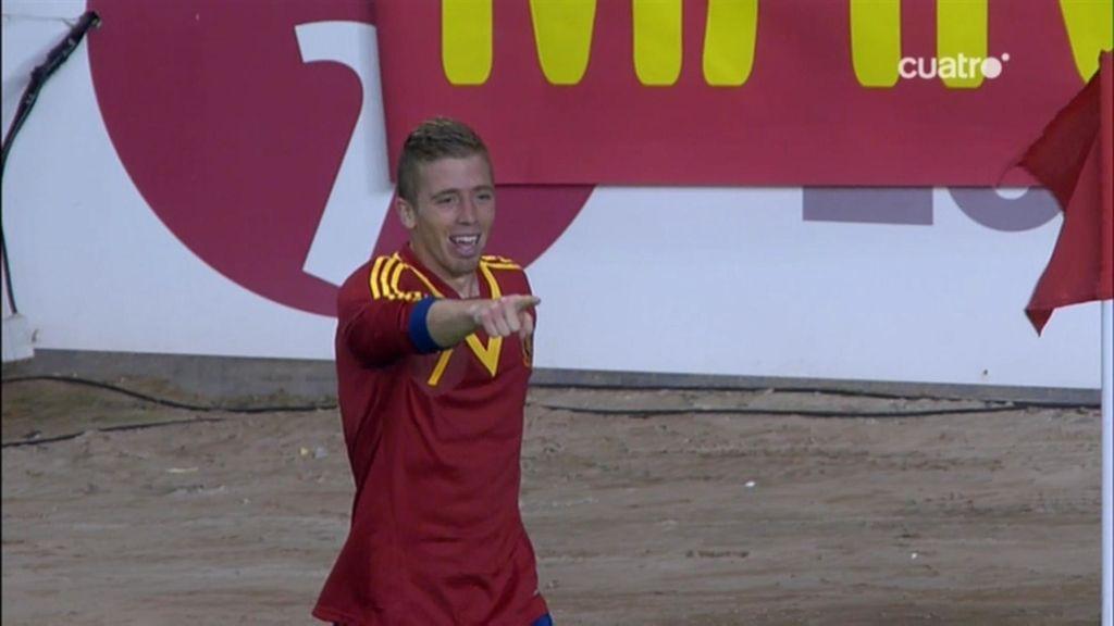 Muniain repite con el segundo de España