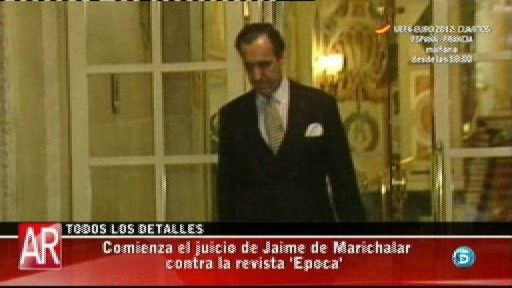 Comienza el juicio de Jaime de Marichalar contra la revista 'Época'