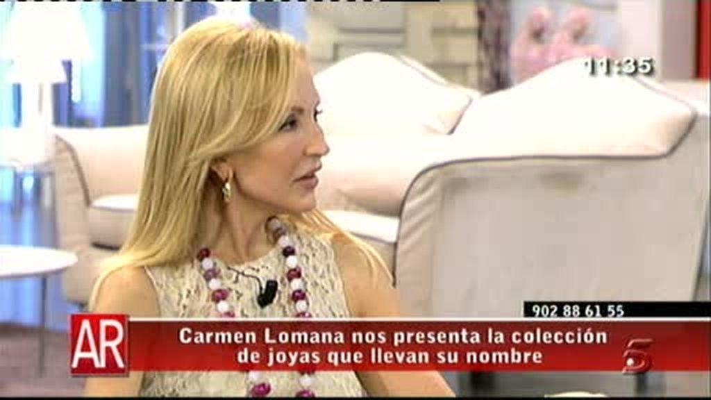 Carmen Lomana, soltera