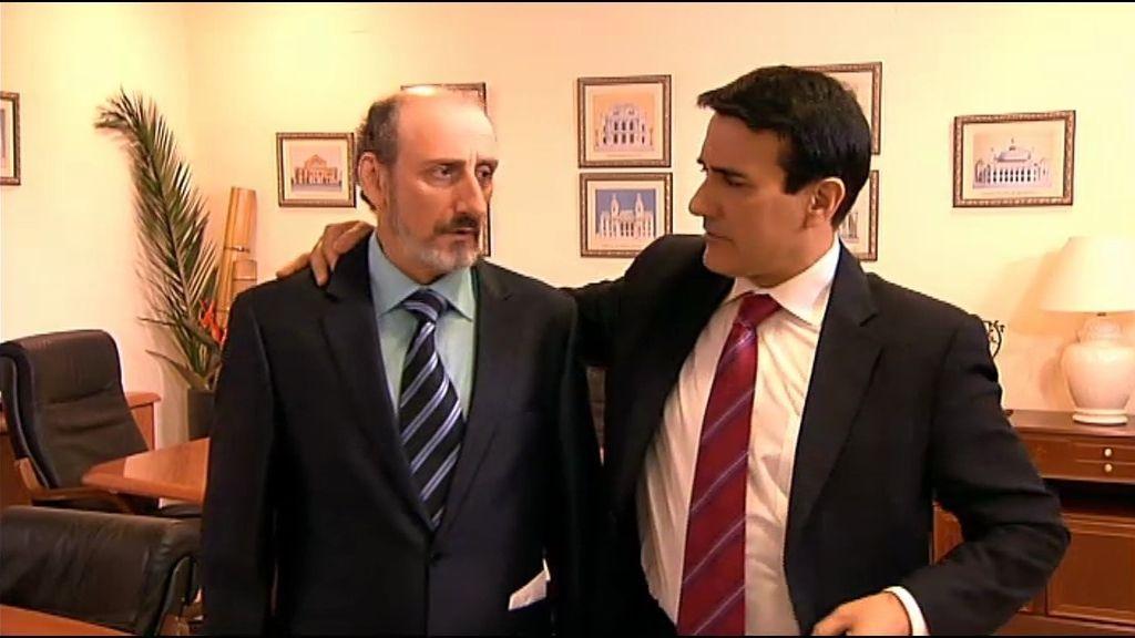 Enrique, sobornado por el alcalde