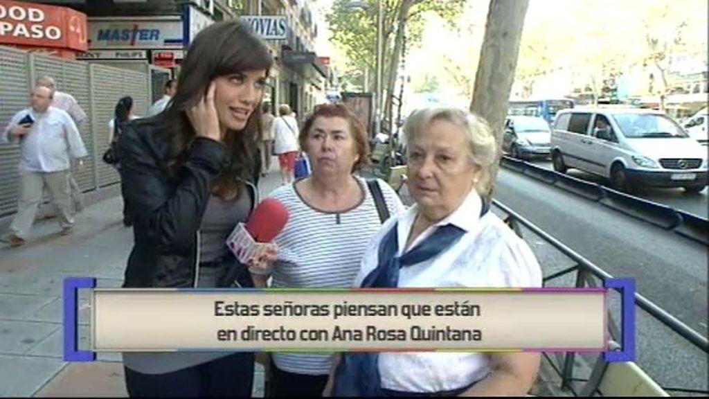 Ares, nueva reportera de Ana Rosa
