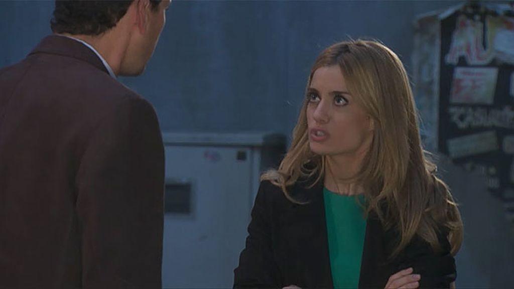 Pedro y Carlota discuten