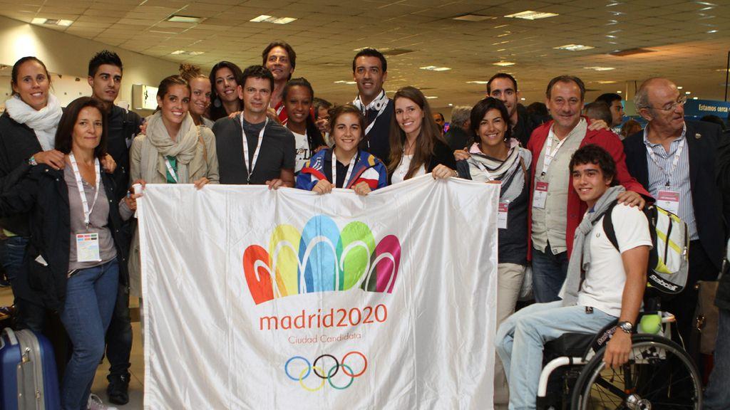 Políticos y deportistas se unen en Buenos Aires para lograr el sueño de Madrid 2020