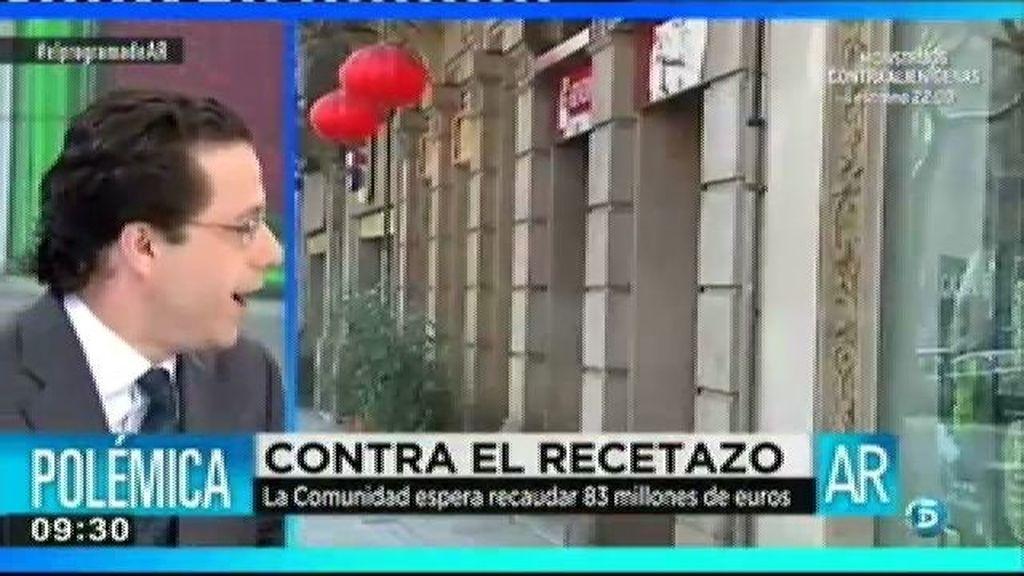 """Lasquetty: """"Hacienda reclamará el euro por receta a quien no lo pague"""""""
