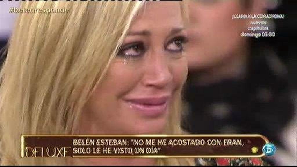 """Belén Esteban: """"Juro que no le he contado a María Patiño queme he acostado con Fran"""""""