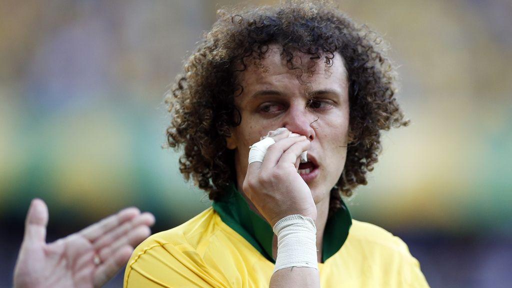 Susto de Luiz tras un cabezazo de Thiago