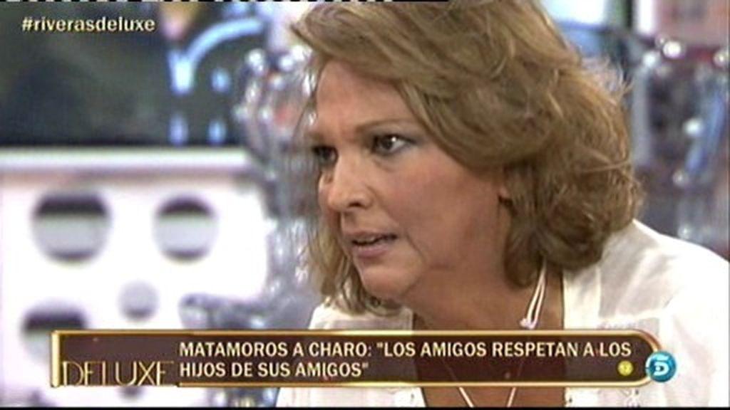 Duro enfrentamiento entre Kiko Matamoros y Charo Vega en El Deluxe