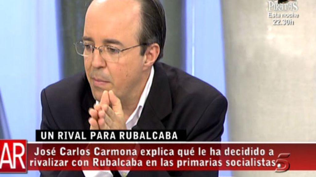 El rival de Rubalcaba