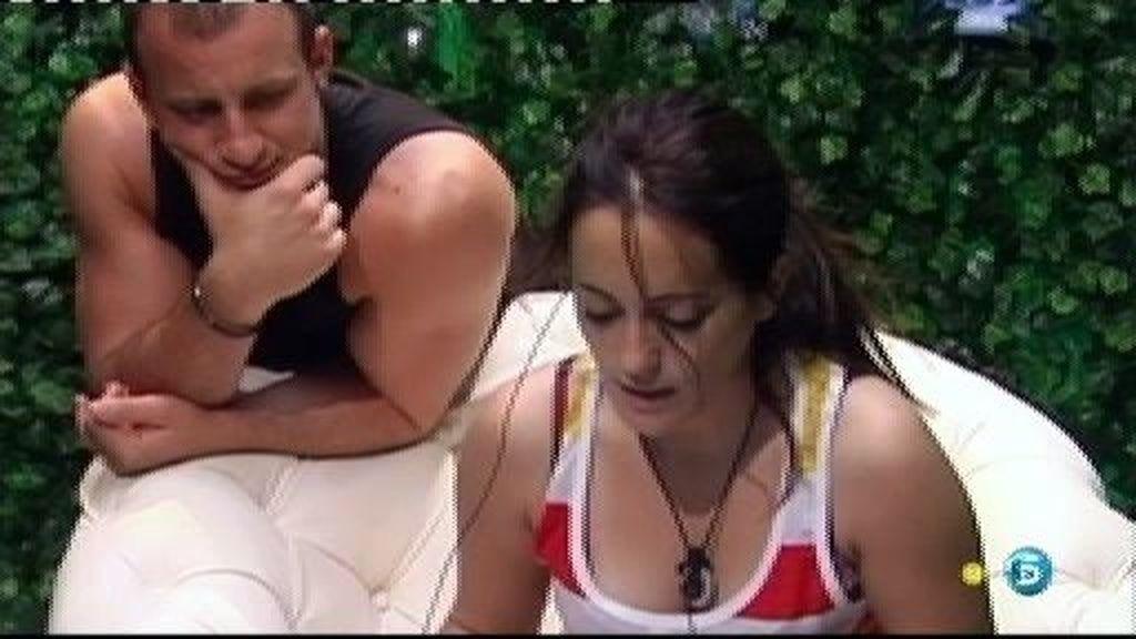 """Sindia, a Sergio: """"Me has hecho sentir mal para que siguiera contigo"""""""
