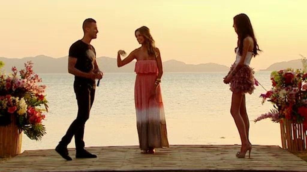Raquel y David salen juntos del Paraíso