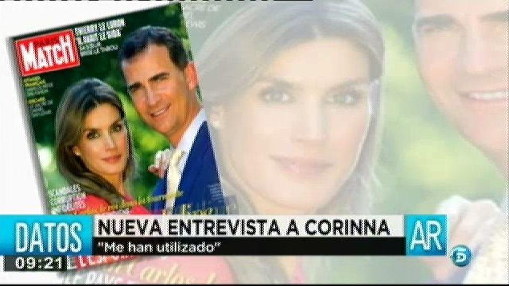 Corinna copa los titulares de los periódicos de medio mundo