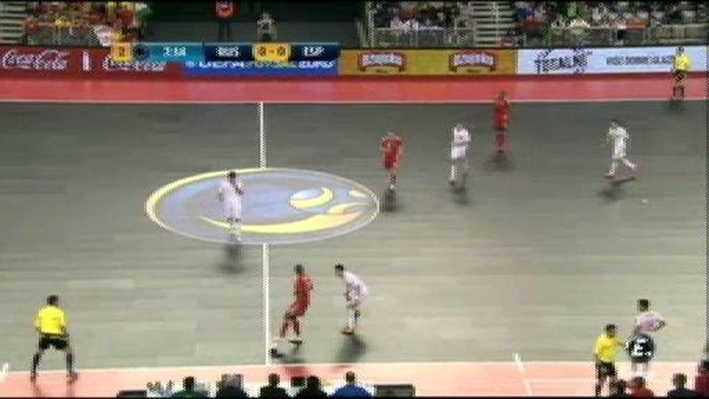 Gol de Pula (0-1), minuto 33