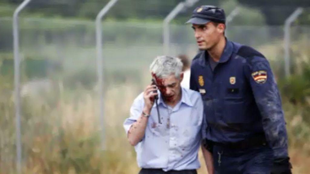 El maquinista de la tragedia de Santiago de Compostela, conmocionado