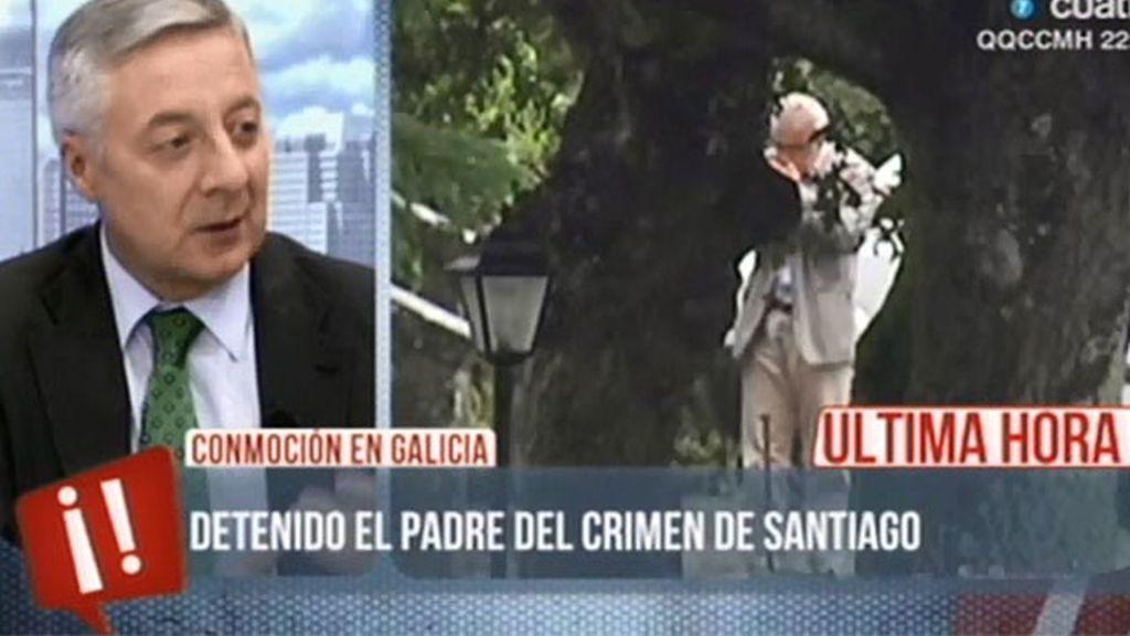 """Pepe Blanco, sobre el crimen de Santiago: """"Estamos conmocionados"""""""