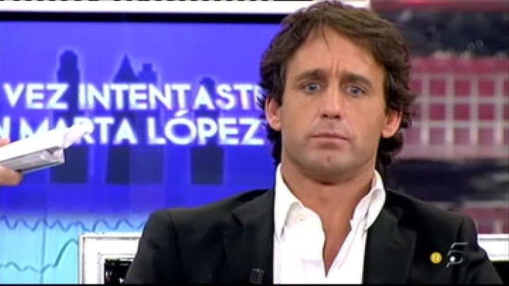 """""""A Marta López le entré a saco"""""""