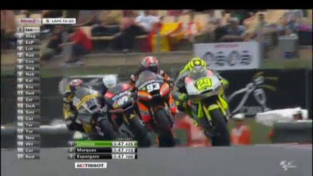 GP de Catalunya: vuelve a ver la carrera de Moto2