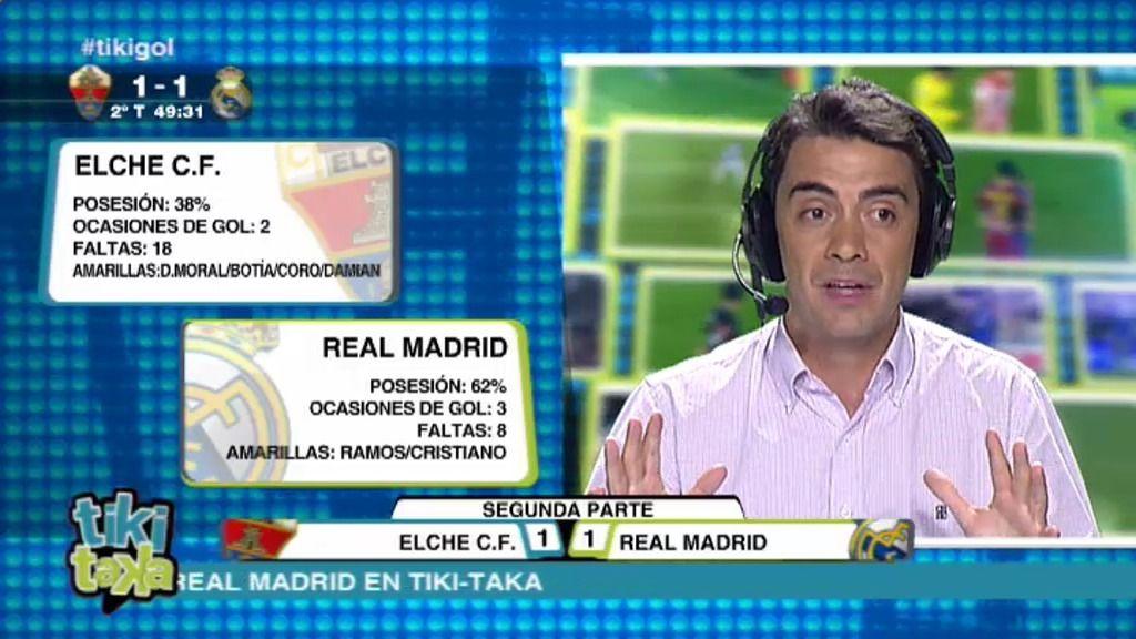 Así se vivió el penalti pitado a Pepe en el directo especial de Tiki Taka