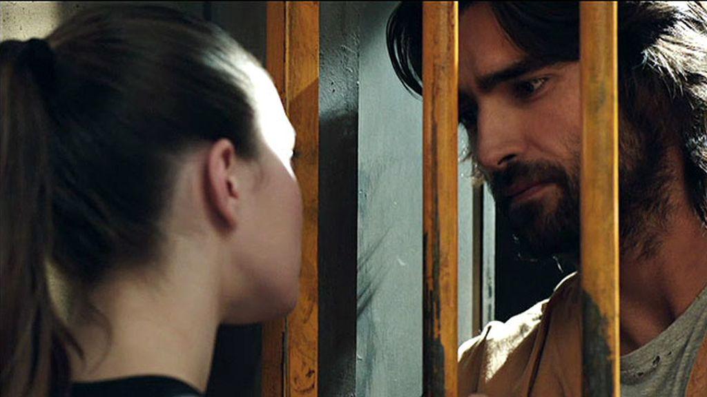 """Daniel, a Anna: """"me muero de ganas por darte un beso"""""""