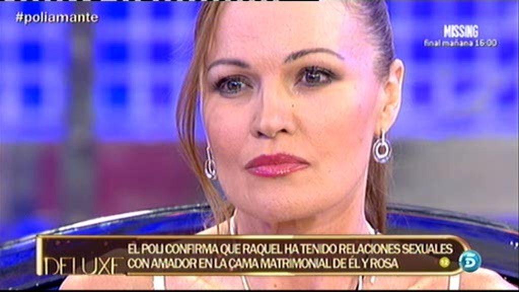 El 'polideluxe' confirma que Raquel Moragues tuvo sexo con Amador en la cama de Rosa