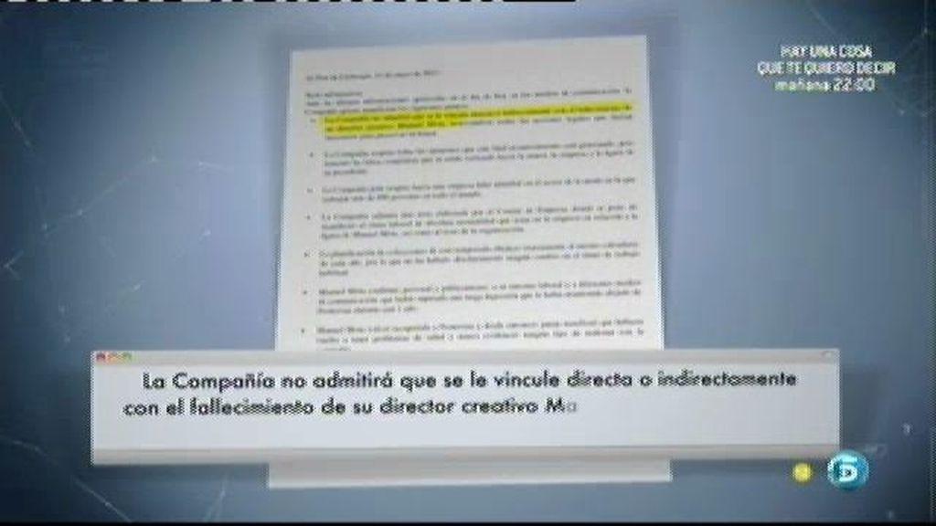 Pronovias se desvincula de la muerte de Manuel Mota