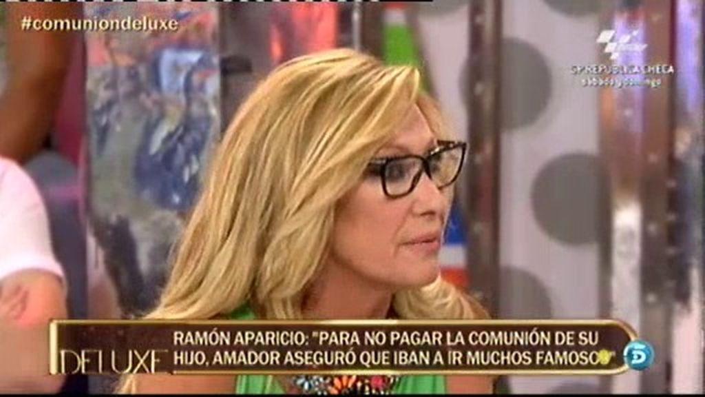 Rosa Benito, indignada tras escuchar a Ramón Aparicio