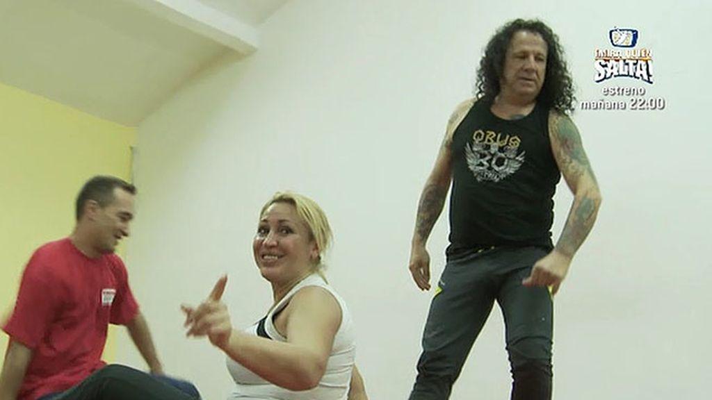 Fortu y Raquel Mosquera, la voluntad y la ganas de superación de '¡Mira quién salta!'