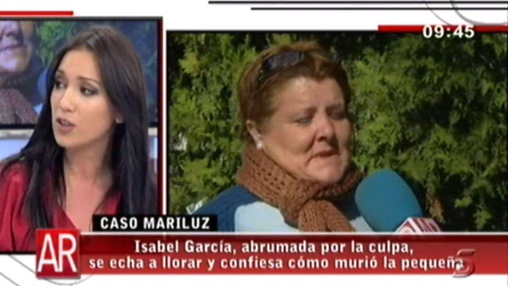 Patricia Pardo defiende su labor