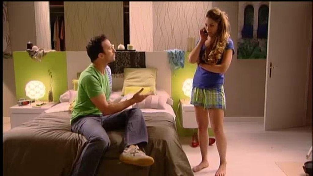 Nuria consigue que no despidan a Rubén