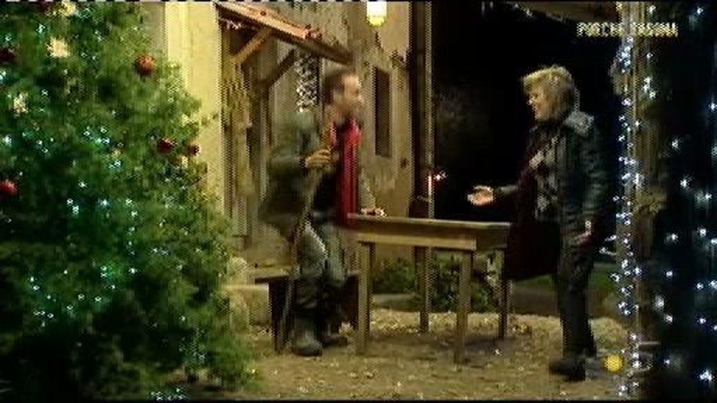 Sorpresa navideña para Liberto