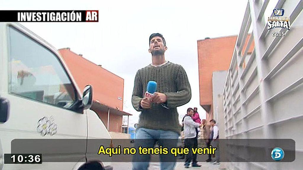 La familia de 'El Goyito' agrede a los reporteros de 'AR'