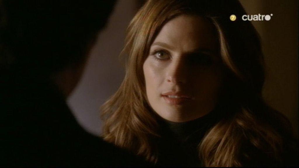 """Beckett:""""¿Por qué sigues viniendo, Castle?"""""""
