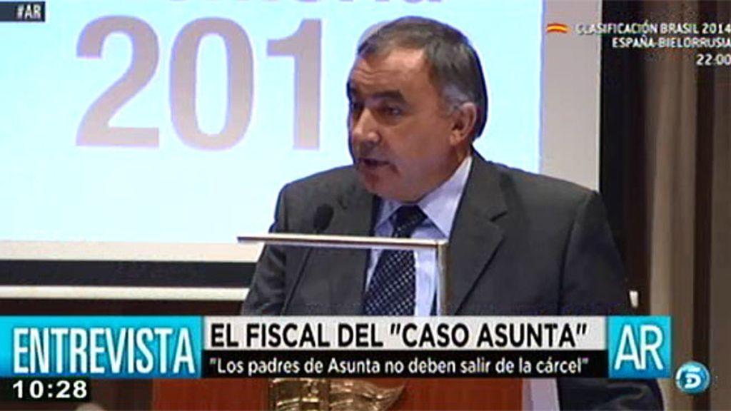 El fiscal superior de Galicia cree que los padres de Asunta no deben salir de la cárcel