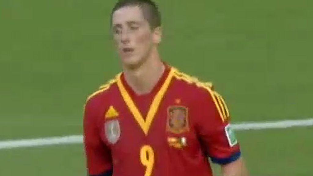 Torres perdona ante Buffon