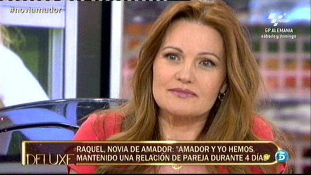 "Raquel Moragues: ""Cuando Amador vio a Rosa Benito en Sálvame, se derrumbó"""