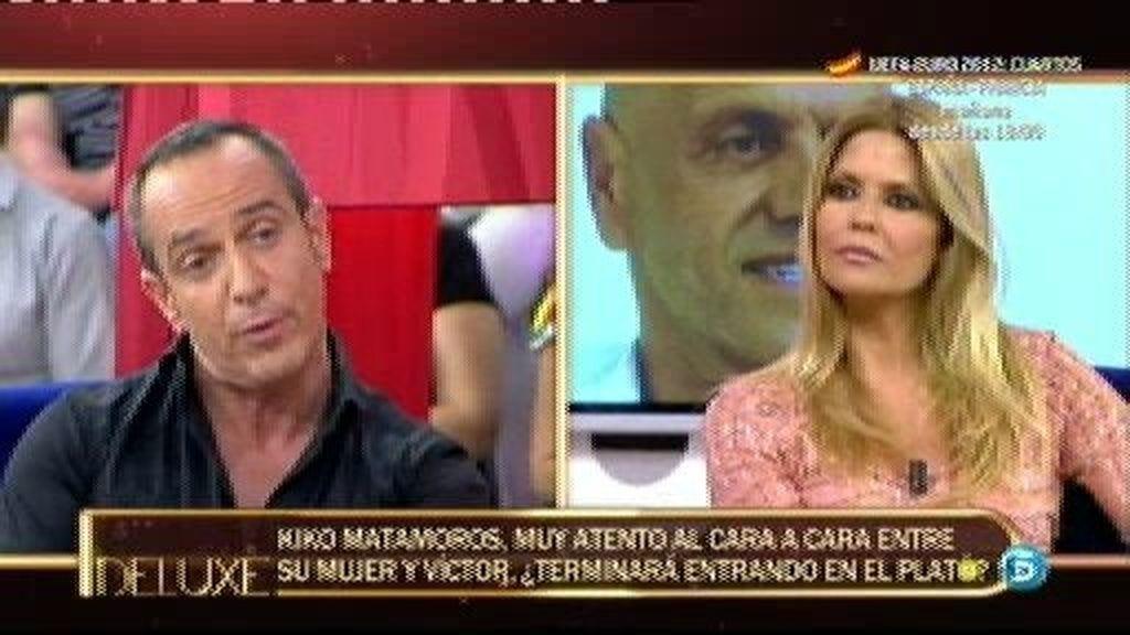 """Víctor Sandoval: """"Quiero que Nacho Polo me responda cara a cara"""""""