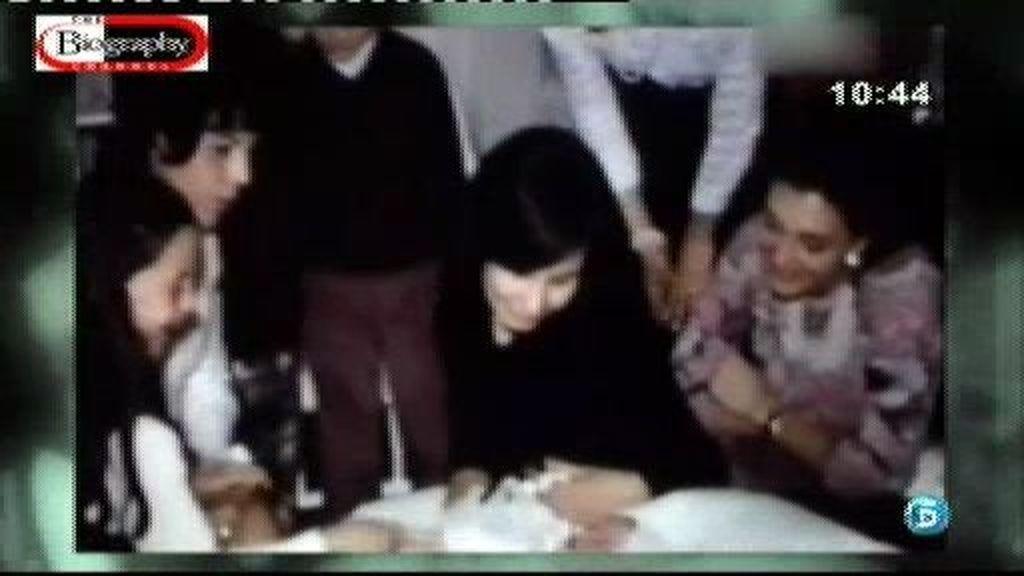 Así fue la infancia de Arantxa Sánchez Vicario