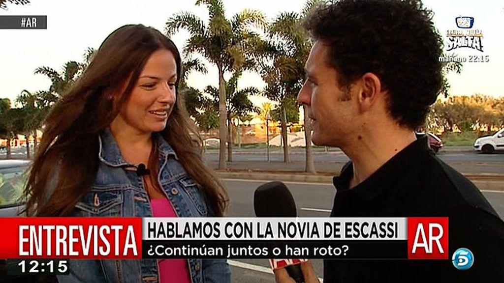 """La novia de Escassi, antes de su ruptura: """"Álvaro y Sonia están supercompenetrados"""""""