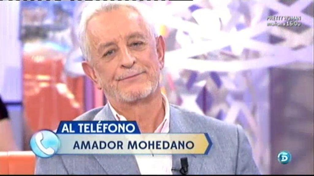 Amador Mohedano sorprende a Juan Pardo