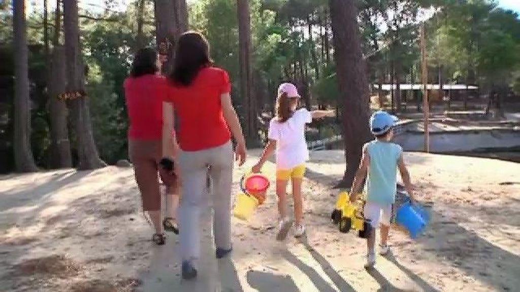Raquel empieza a disfrutar de sus hijos