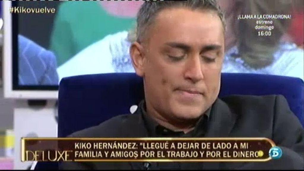 """Kiko Hernández: """"Llegué a dejar de lado a mi familia por el trabajo y el dinero"""""""