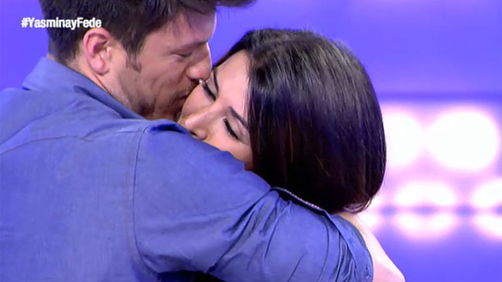 """Fede, a Yasmina: """"Me gustas y quiero irme contigo"""""""